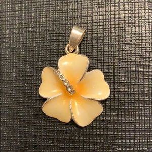 Hawaiian flower charm